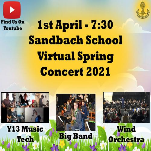 sandbach school spring soncert poster square reduced